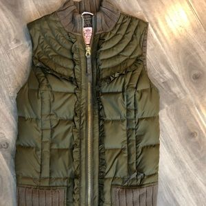 Juicy couture quilted vest - very rare